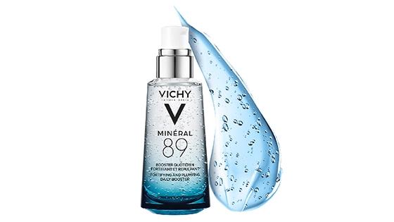 textura gel, agua termal, mineral 89, hidratante, fortificar, hidratar, textura ligera, vichy