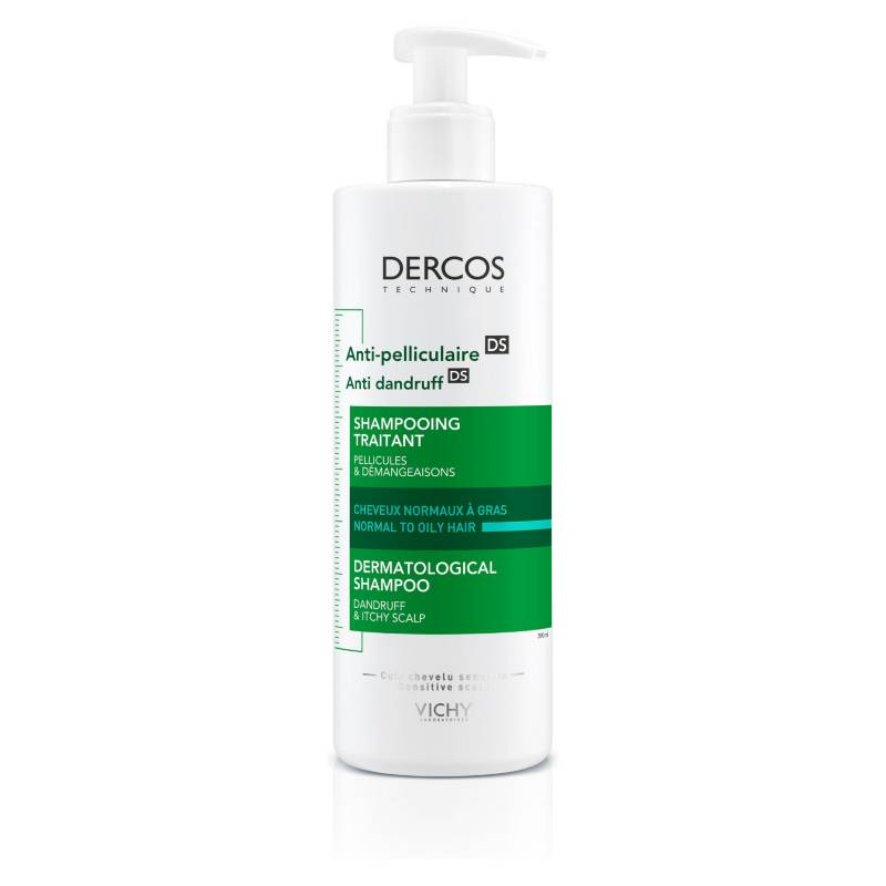VICHY - Shampoo Anticaspa Grasa 390 ml