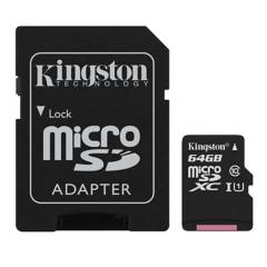 Kingston - Kingston Micro Sd Canvas Select 64Gb