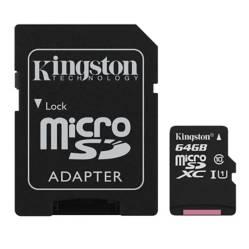 Kingston - Kingston Micro Sd Canvas Select 64Gb