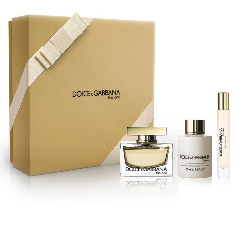 Dolce&Gabbana - Set Perfume Mujer The One EDP 75 ML + Body Cream 100 ML + Perfumero