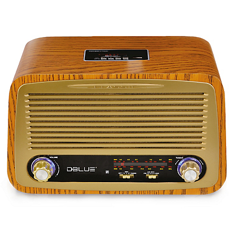 DBlue Retro Radio DB257 Bluetooth Style CC6rwP