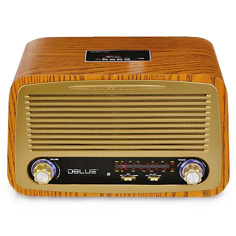 Bluetooth Style Retro Radio DB257 DBlue qYTSgS