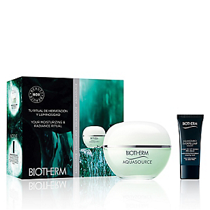 Set Hidratación Día/Noche Aquasource Gel 30 ML Piel Normal-Mixta + Máscara Everplump Night 30 ML