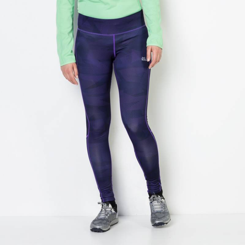 JACK WOLFSKIN - Calza Grid Tights W