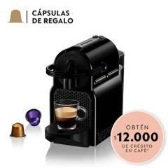 NESPRESSO - Cafetera Inissia D40 Negra