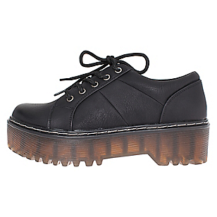 Zapato Creepers Evelina Negro Weide ME4LKhYaY2