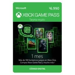 Suscripción Xbox Game Pass 1 Mes.
