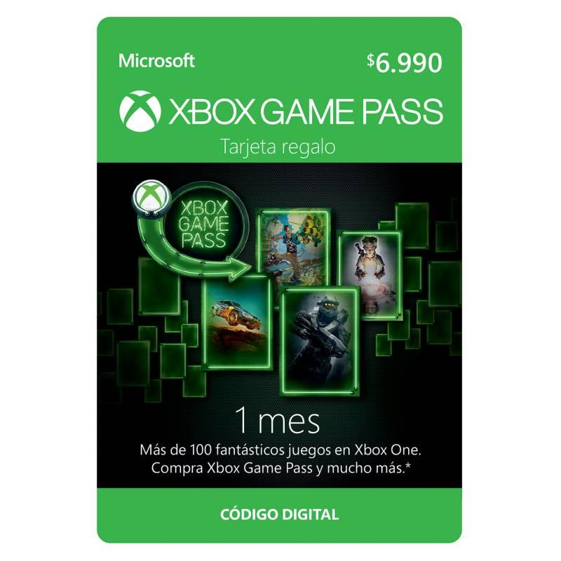 Microsoft - Suscripción Xbox Game Pass 1 Mes.