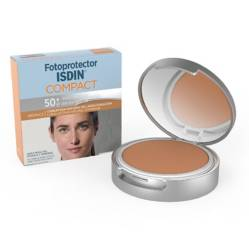 ISDIN - Foto protector Compacto 50+ Bronce 10 G