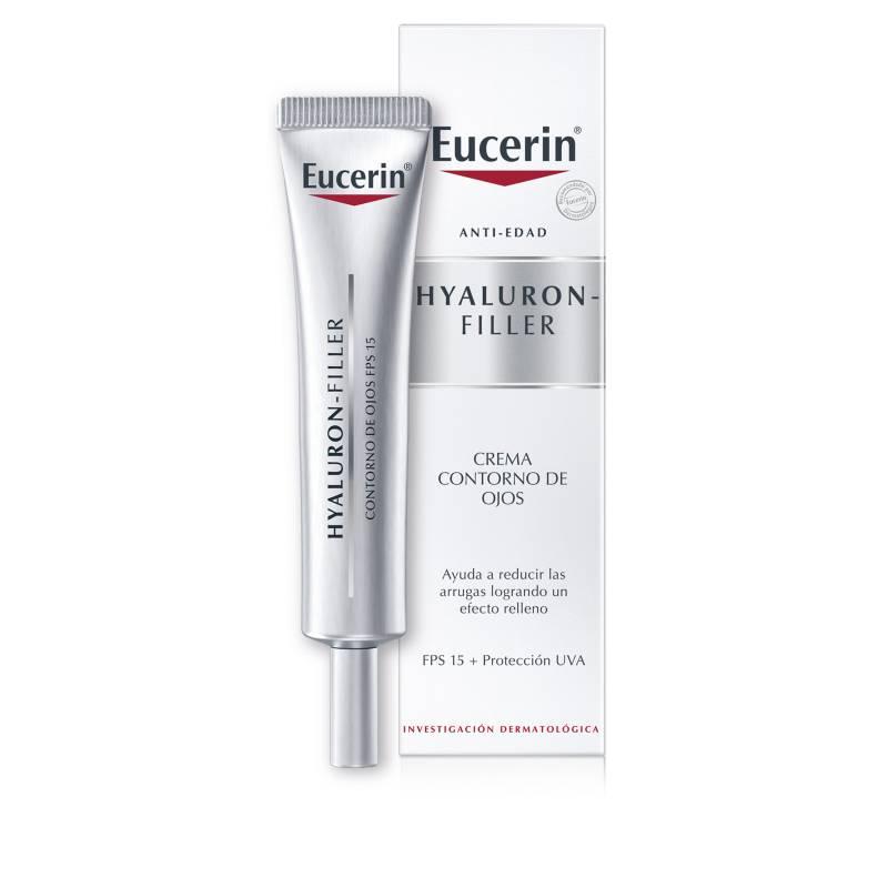 EUCERIN - Contorno de Ojos Antiarrugas Hyaluron-Filler Fps 15