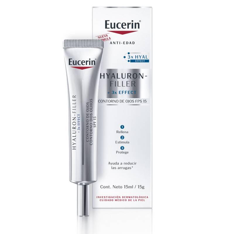 EUCERIN - Contorno de ojos antiarrugas Hyaluron-Filler  15 ml