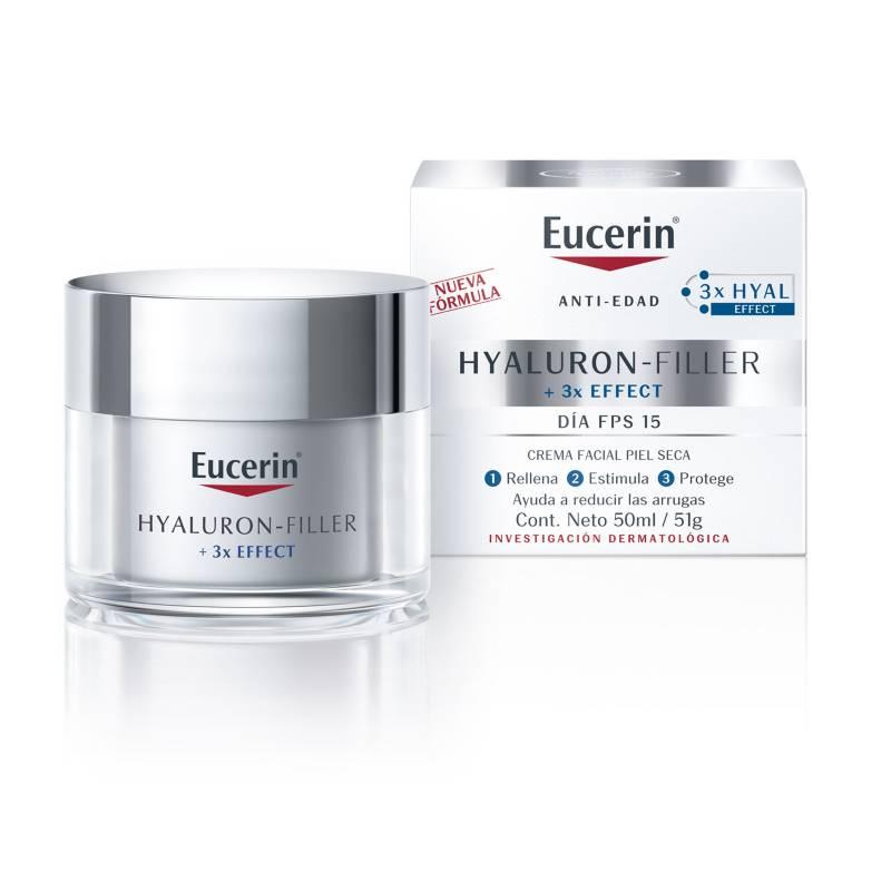 EUCERIN - Crema facial antiarrugas Hyaluron-Filler día p.seca 50 ml