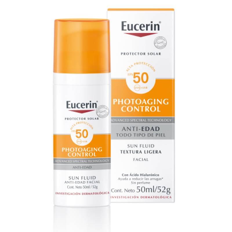 EUCERIN - Protector Solar 50ml Facial Antiedad Photoaging Control FPS 50