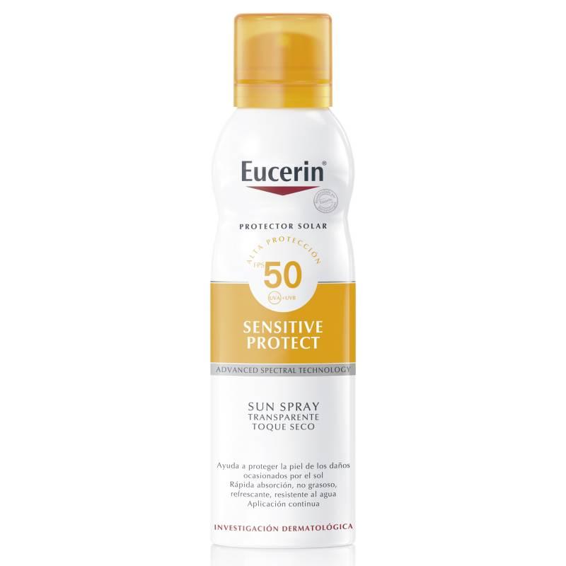 EUCERIN - Protector solar spray transparente toque seco 50ml