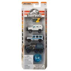 Pack de Autos Jurassic World