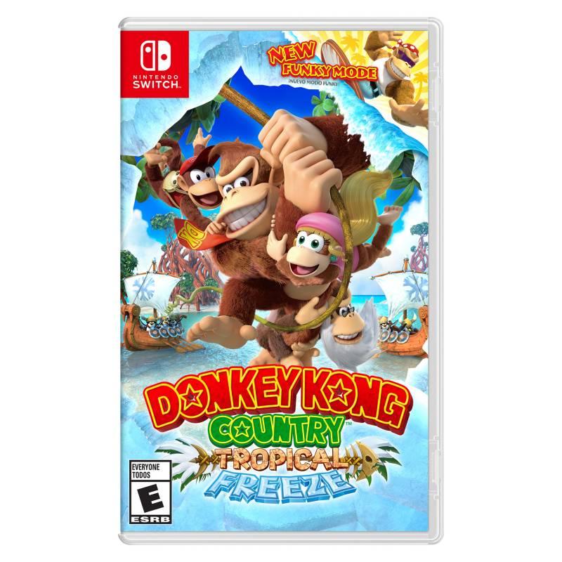Nintendo - Videojuego Donkey Kong Country Tropical Nintendo Switch