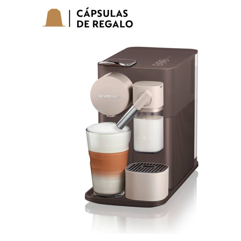Nespresso - Cafetera Lattissima One F111 Café