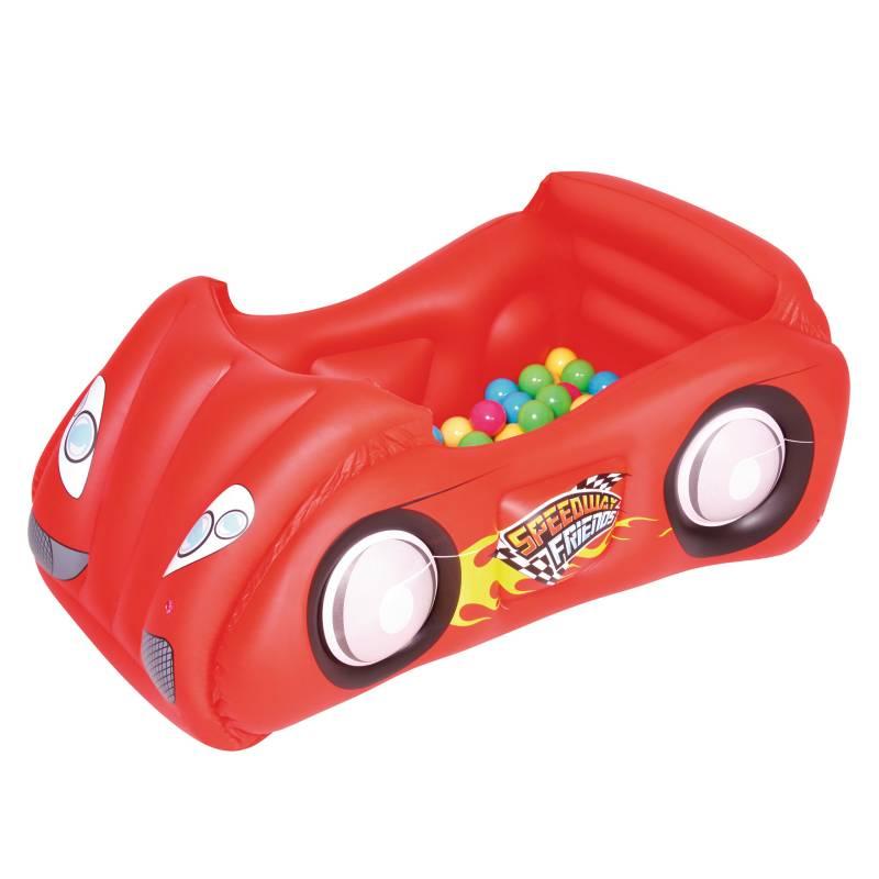 Bestway - Auto Infantil con 50 Pelotas
