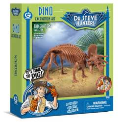 Dino Excavation Kit -Triceratops  Geoworld