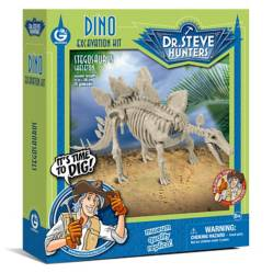Dino Excavation Kit -Stegosaurus  Geoworld