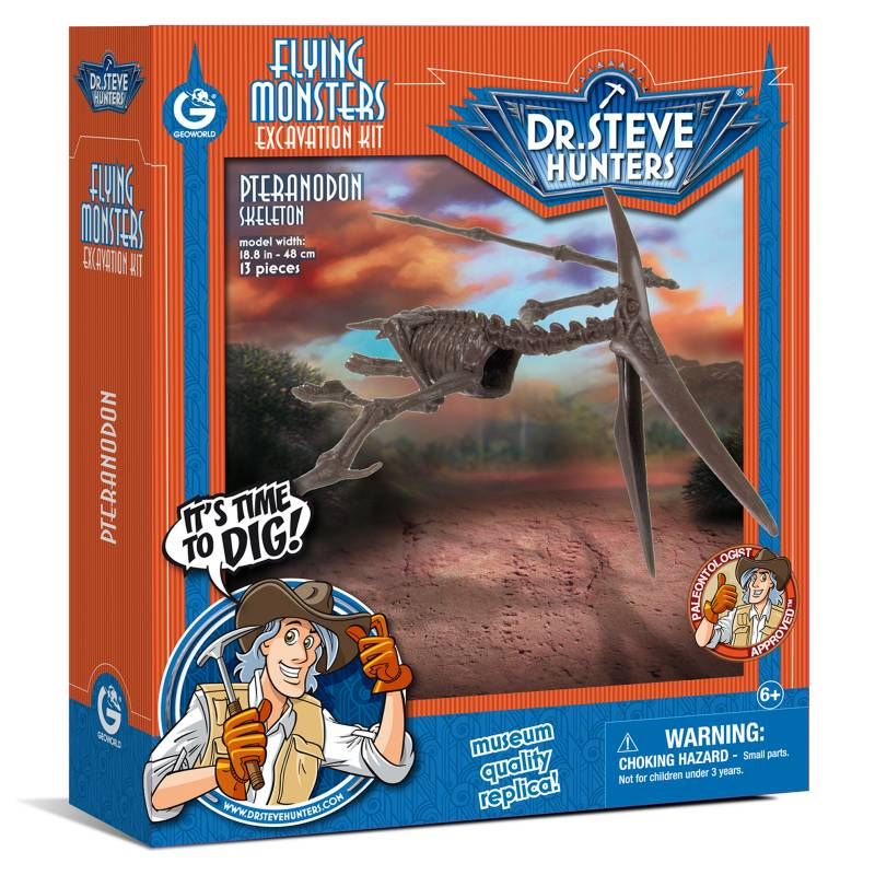 GEOWORLD - Flying Monsters Excavation Kit -Pteranodon Geoworld