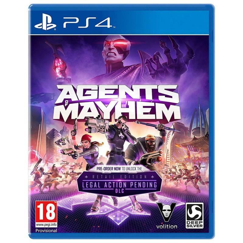 PLAYSTATION - Agents Of Mayhem
