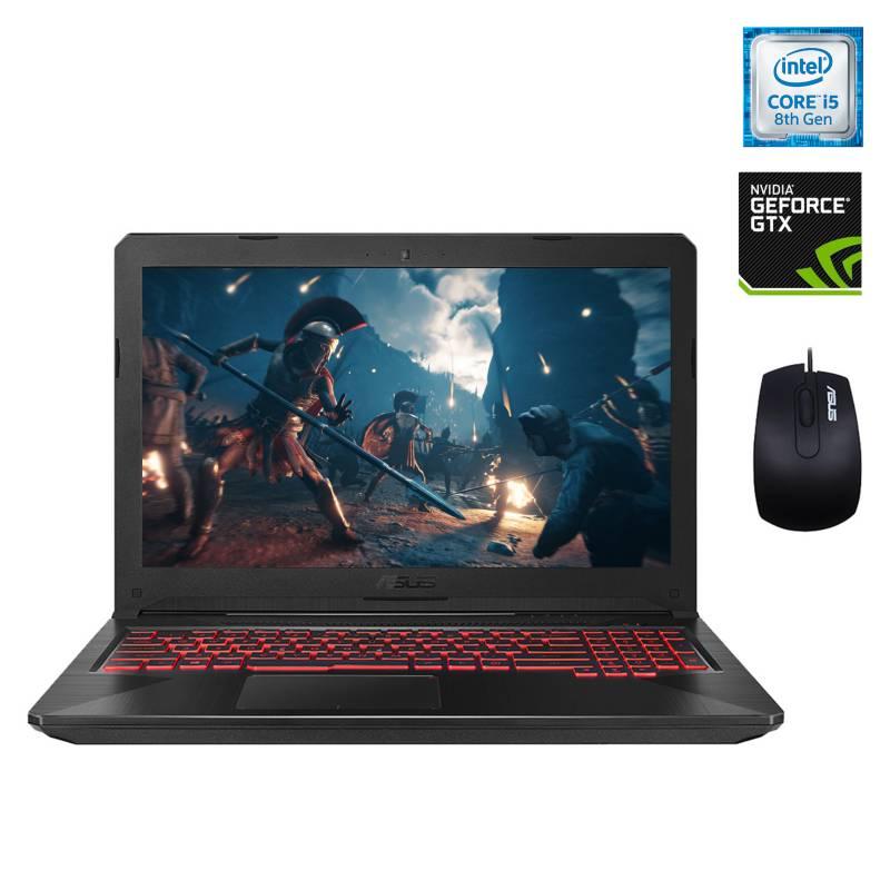 "Asus - Notebook TUF Gaming FX504GE Intel Core i5 8GB RAM-1TB HDD NVIDIA GeForce GTX 1050 Ti 15.6"""