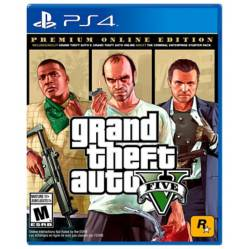 Grand Theft Auto V -Premium Online Edition-  (Ps4)