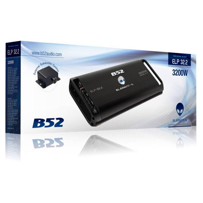 B52 - Amplificador de Auto B52 Elp-32.2