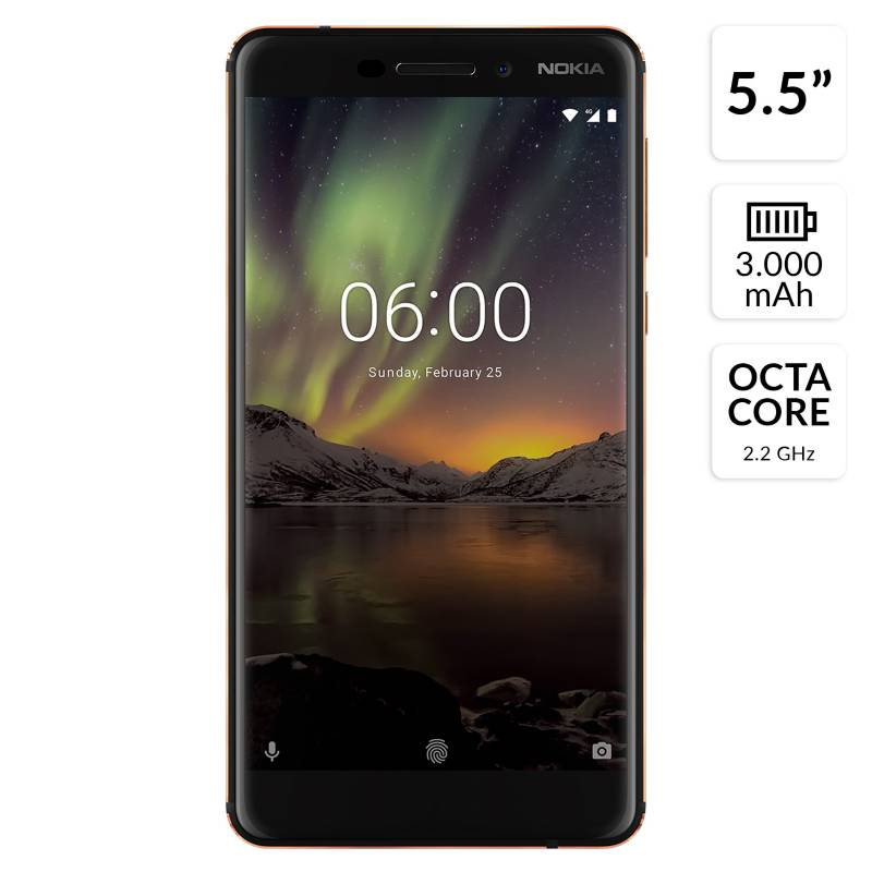 Entel - Smartphone Nokia 6.1 32GB