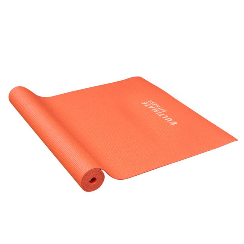 ULTIMATE FITNESS - Mat de Yoga 3 mm Naranjo