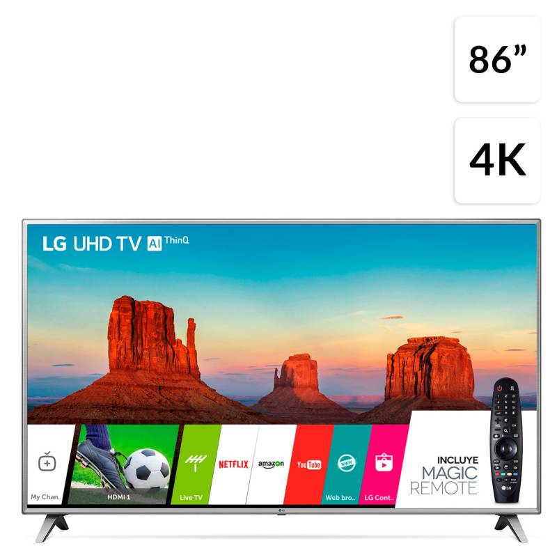 "Lg - LED 86"" 86UK6570PSA UHD Smart TV"