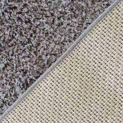 Alfombra Grande Shaggy Gris 150x200 cm