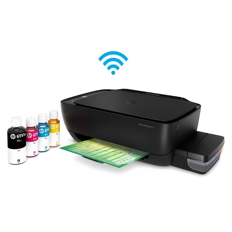 Hp - Multifuncional WiFi HP Ink Tank 415