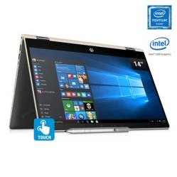 Notebook 2en1 14-CD0001LA Intel Pentium 4GB RAM-500GB 14""
