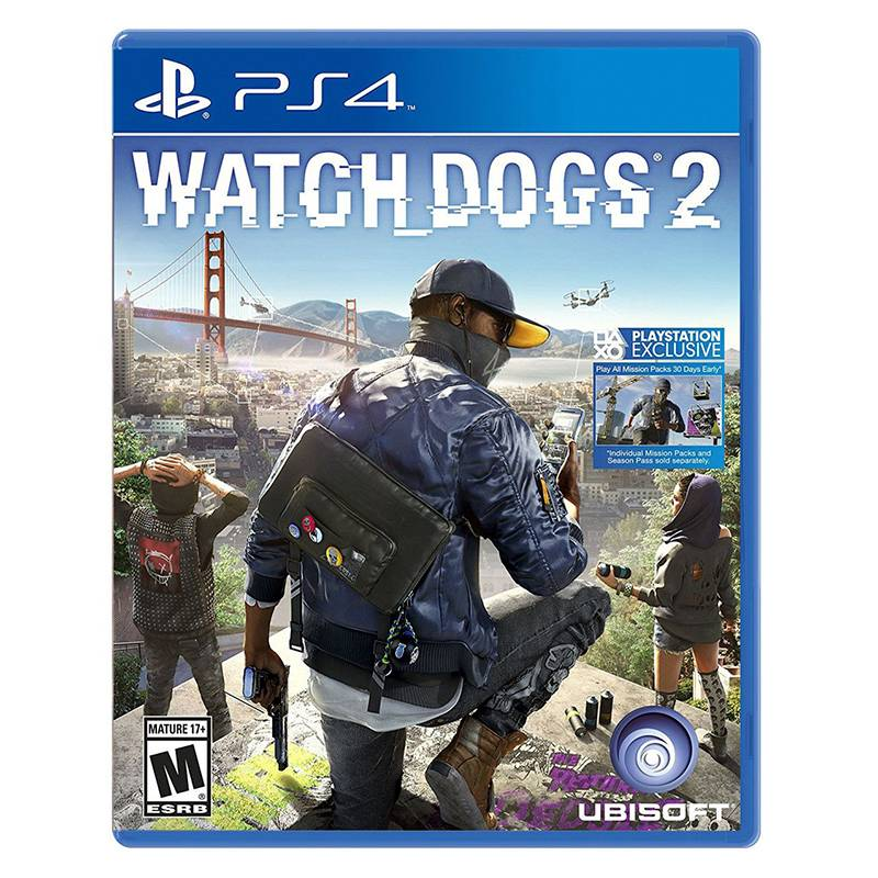 Sony - Watch Dogs 2 (Ps4)