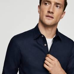 Camisa 100% Lino