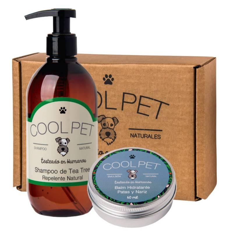 COOL PET - Pack De Shampoo Tea Tree + Balm