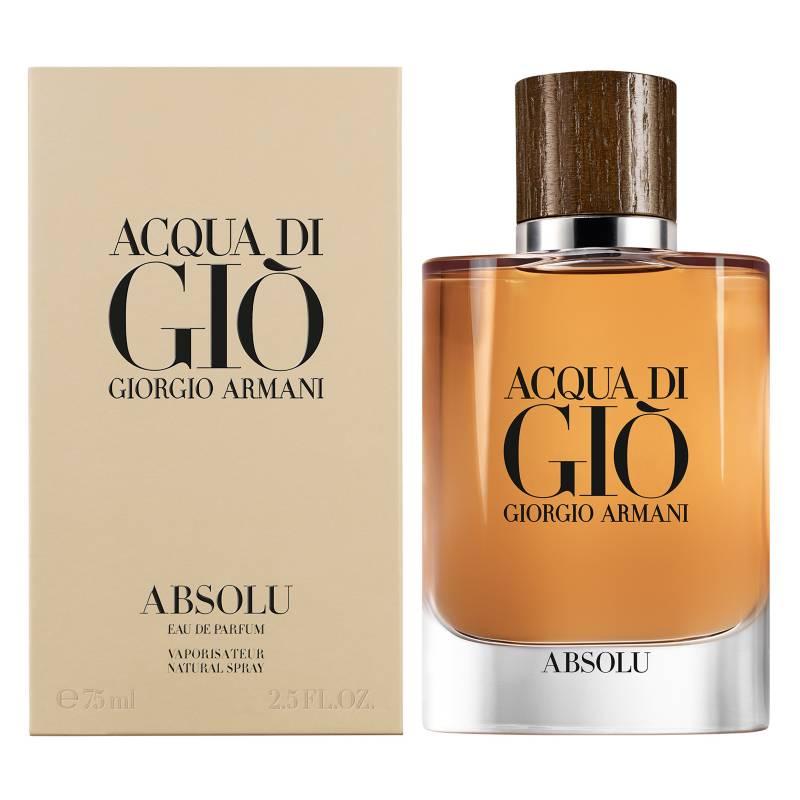 GIORGIO ARMANI - Perfume Hombre Acqua Di Gio ABSOLU EDP 75ML