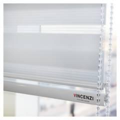 VINCENZI - Cortinas Roller Duo Día/noche Zebra 1.6x2.4