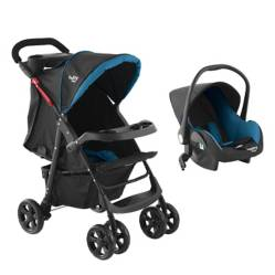 Baby Way - Coche Travel System BW-413B18 Travel