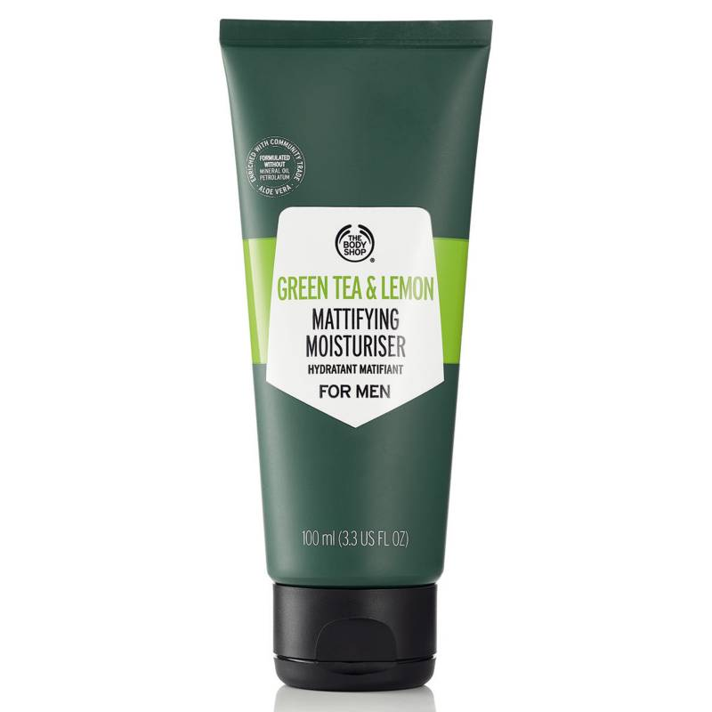 The Body Shop - Hidratante Matificante de Té Verde y Limón para Hombre
