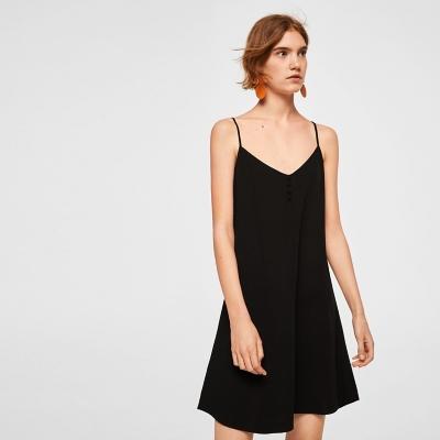 Vestidos largos negros sencillos