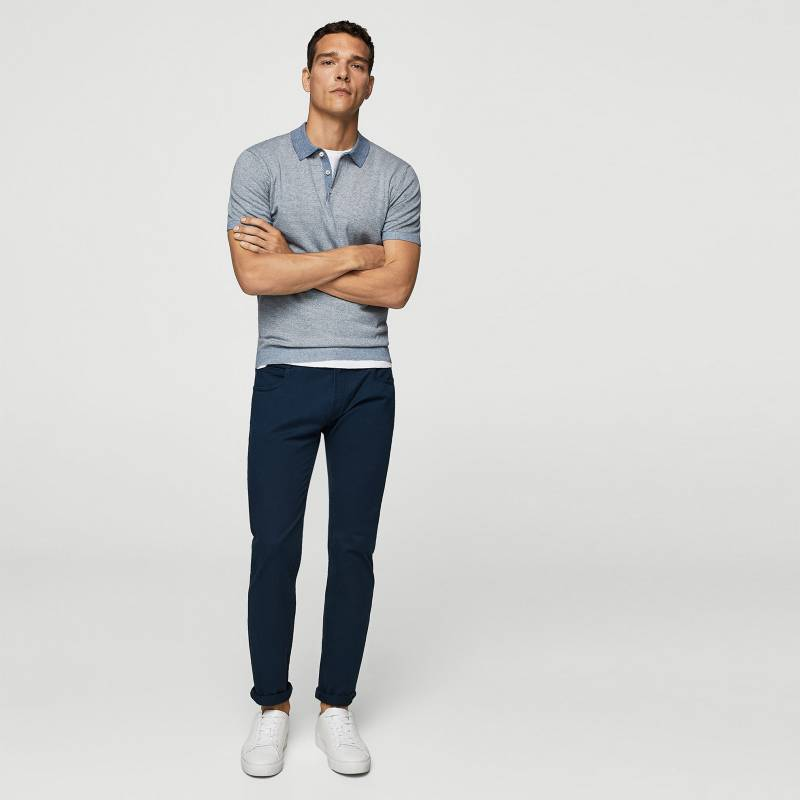 Mango Man - Pantalón Slim Fit Hombre