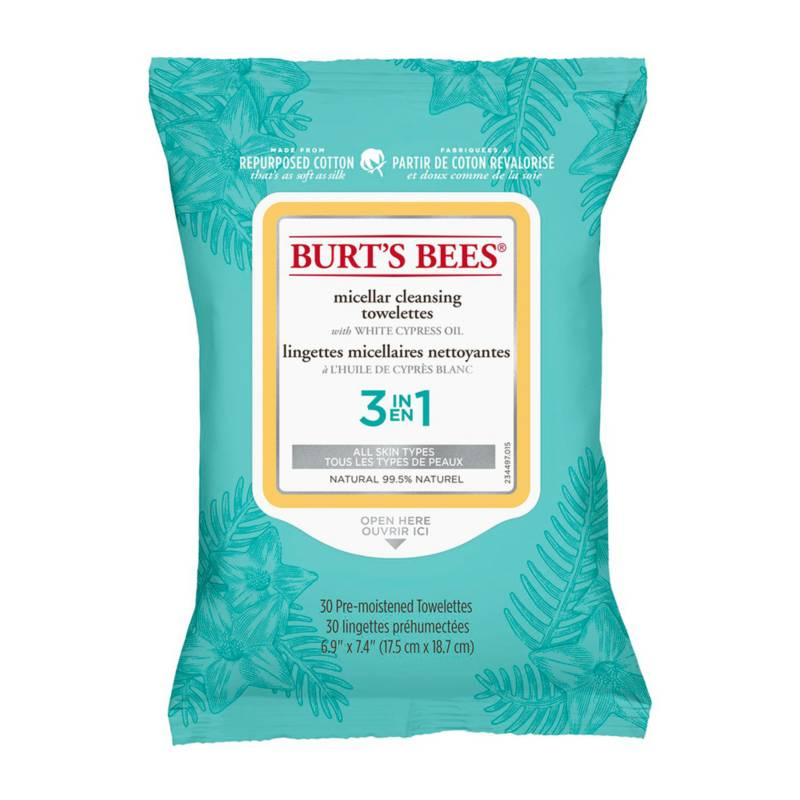 BURTS BEES - Micellar Cleansing Towelettes
