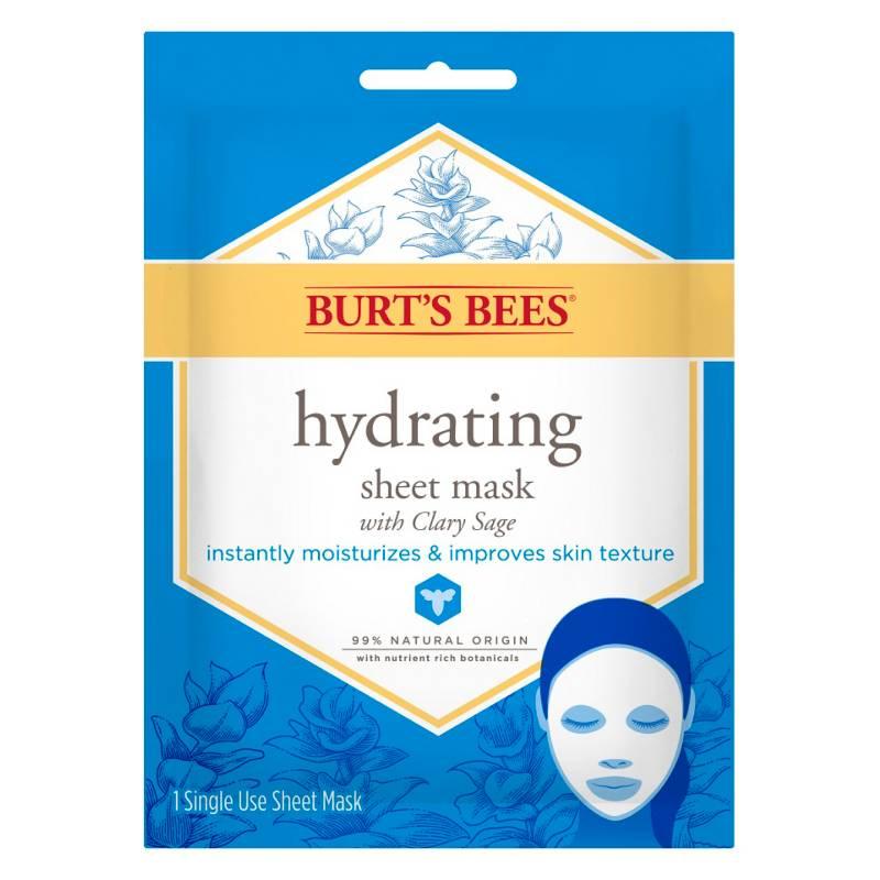 Burts Bees - Tratamiento Facial Face Sheet Mask - Hydrating - 1 Count