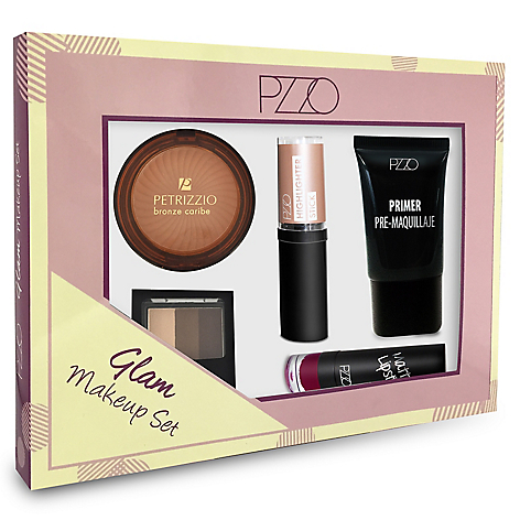 28ed72356 Petrizzio Glam Make Up Set N18 (Primer + Polvos Shine + Spray ...