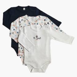 Yamp - Pack de 3 Bodies Bebé Niño