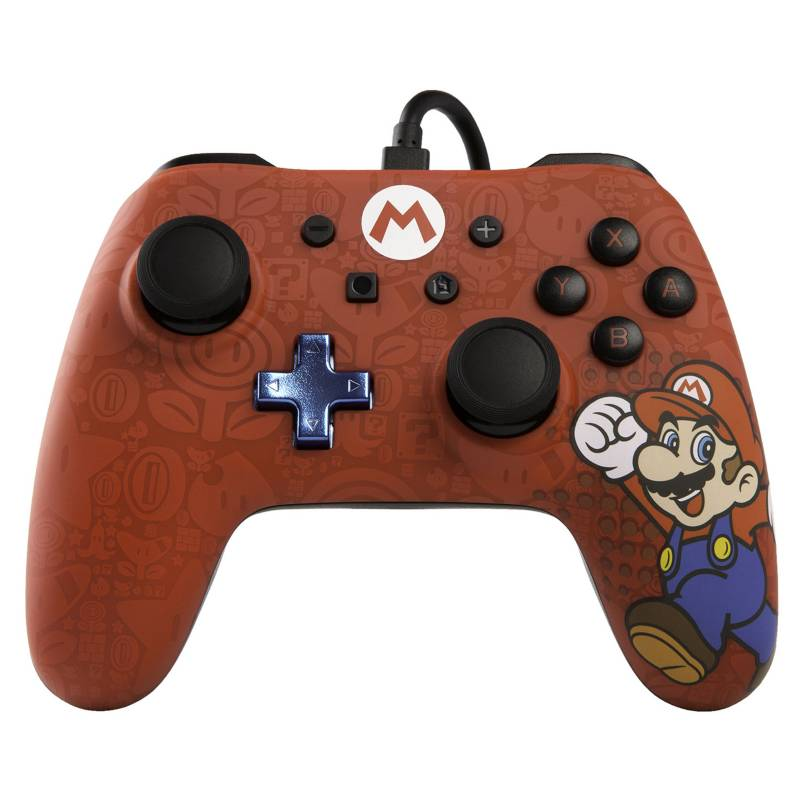 POWER A - Joystick Wired Iconic Controller Mario
